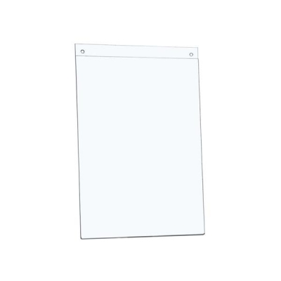 5 Star Sign Holder Wall Display Portrait A4 Clear