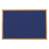 5 Star Felt Noticeboard 900x600mm Wooden Frame