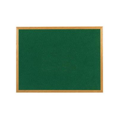 5 Star Felt Noticeboard 1200x900mm Wooden Frame Green