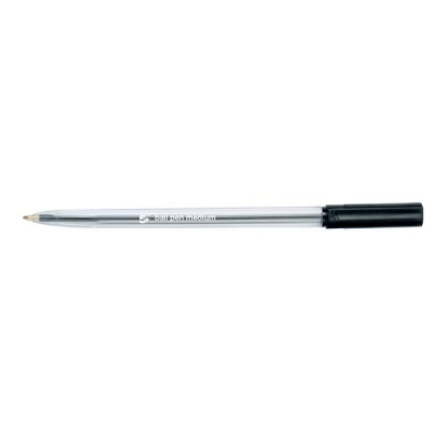5 Star Ballpen Medium Black [Pack 20]