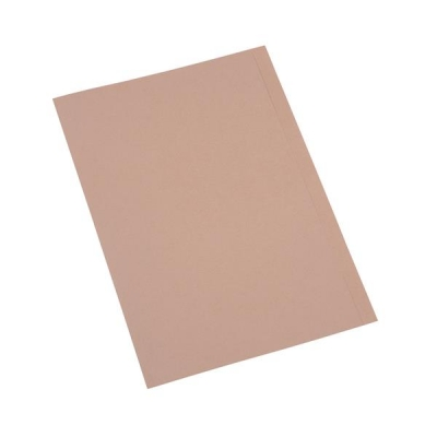 5 Star Eco Square Cut Folders Foolscap Kraft [Pack 100]