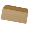 5 Star Envelopes Lightweight Wallet Gummed 75gsm Manilla DL [Pack 1000]