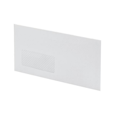 Postmaster Envelopes Wallet Gummed with Window 90gsm White DL [Pack 500]