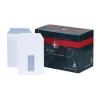Plus Fabric Envelopes Pocket Press Seal Window 110gsm C5 White [Pack 500]