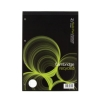 Cambridge Recycled Refill Pad Headbound Ruled and Margin 4-Hole 70gsm 80 Sheets A4 Ref 100080151 [Pack 5]