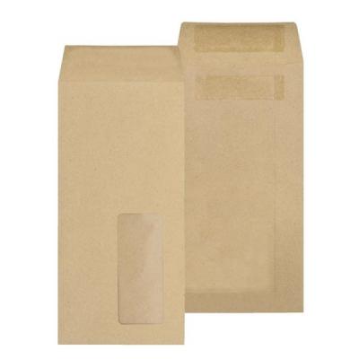 New Guardian Envelopes Lightweight Pocket Press Seal Window 80gsm Manilla DL [Pack 1000]