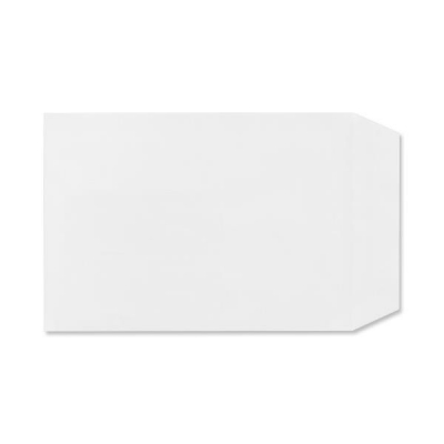 Plus Fabric Envelopes Pocket Press Seal 110gsm C5 White Ref D26170 [Pack 500]