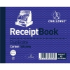 Challenge Duplicate Book Gummed Sheets Carbon Receipt 2-to-View 100 Sets 105x130mm Ref 100080444 [Pack 5]