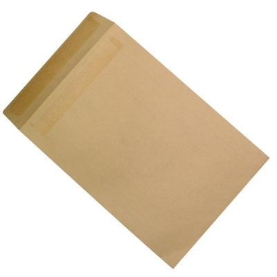 5 Star Envelopes Heavyweight Pocket Press Seal 115gsm Manilla 381x254mm [Pack 250]
