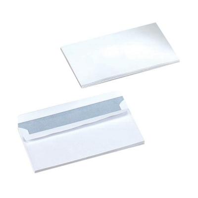 5 Star Envelopes Wallet Press Seal 90gsm White DL [Pack 1000]