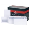 Plus Fabric Envelopes Wallet Press Seal 110gsm DL White [Pack 500]