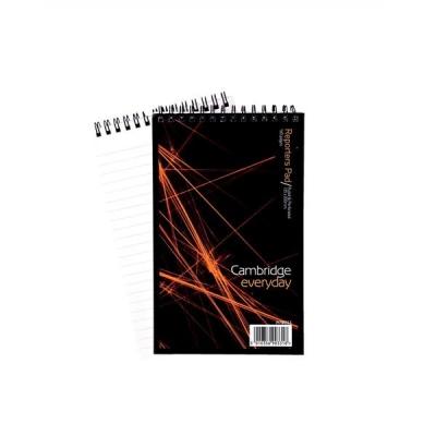 Cambridge Notebook Headbound Wirebound 70gsm Ruled 160pp 200x125mm Ref 100080496 [Pack 10]
