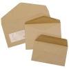 5 Star Envelopes Lightweight Wallet Gummed 75gsm Manilla 89x152mm [Pack 2000]