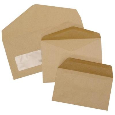 5 Star Envelopes Lightweight Wallet Gummed 75gsm Manilla 89x152mm [Pack 2000]