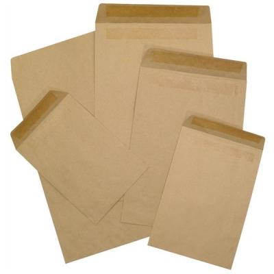 5 Star Envelopes Mediumweight Pocket Press Seal 90gsm Manilla C5 [Pack 500]