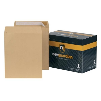 New Guardian Envelopes Heavyweight Pocket Peel and Seal Manilla 305x250mm [Pack 250]