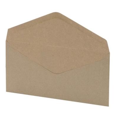 5 Star Envelopes Lightweight Wallet Gummed Window 75gsm Manilla DL [Pack 1000]