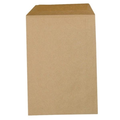 5 Star Envelopes Lightweight Pocket Gummed 80gsm Manilla C4 [Pack 500]