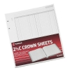 Twinlock 2.5C Crown Treble Cash Sheets Ref 75839 [Pack 100]