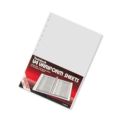 Twinlock V4 Variform 5 Column Cash Sheets Ref 75931 [Pack 75]