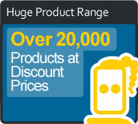 Huge Product Range Feature